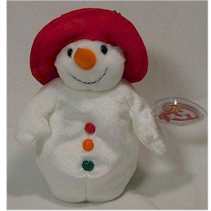 Chillin' the Snowman Ty Beanie Baby Retired