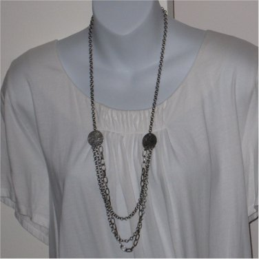 J.Jill Long Antiqued Chain Necklace  JJILL J Jill