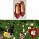 Hallmark Wonders Of Oz Series Complete Set of 3 Miniature Ornaments