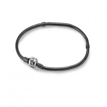 Pandora Oxidized Sterling Silver Bracelet  8.3 inch Large   590702OX