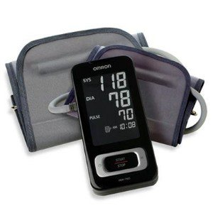 Omron Healthcare-Portable Blood Pressure Monitor w/2 Cuffs