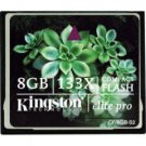 Kingston-8GB Elite Pro Series High-Performance CompactFlash Memory Card