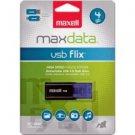 Maxell-Flix 4GB USB 2.0 Flash Drive