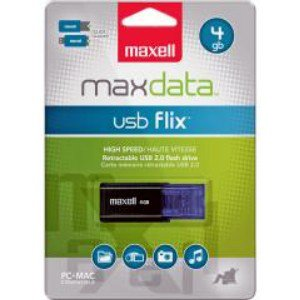 Maxell-Flix 4GB USB 2.0 Flash Drive