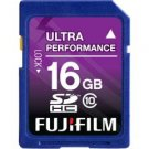 Fujifilm-16GB SDHC Class 10 Memory