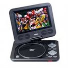 "Naxa-7"" TFT LCD Swivel Screen Portable DVD Player with USB/SD/MMC Inputs"