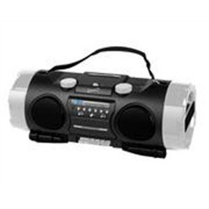 Supersonic-High Performance Portable MP3/CD Player with AM/FM Radio, USB Input & SD Card