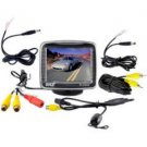 Pyle-3.5'' TFT LCD Monitor with Universal Mount Rear View and Backup Color Camera