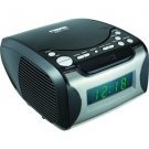 Naxa-Digital Alarm Clock with Digital Tuning AM/FM Radio & CD Player