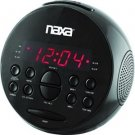 Naxa-PLL Digital Alarm Clock with AM/FM Radio & Snooze