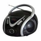 Naxa-Portable MP3/CD Player with AM/FM Stereo Radio & USB Input