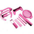 Mgear-Pink 8 in 1 Sports Pack For Nintendo Wii
