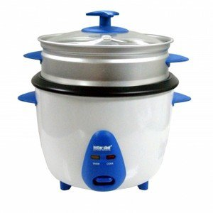 Better Chef- 5-Cup Rice Cooker w/ Food Steamer