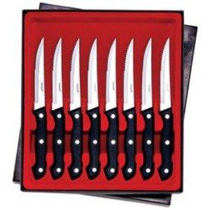 """Maxam-8pc 8-7/8"""" Steak Knife Set"""