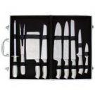 Slitzer-10pc Stainless Steel Cutlery Set in Case