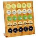 HealthSmart-Bamboo 25-Cup Rack