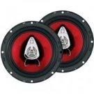 "Boss-6.5"" 3-Way Chaos Series Coaxial Car Audio Speakers"