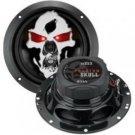 "Boss-6.5"" 3-Way Phantom Skull Series Coaxial Full Range Car Audio Speakers"
