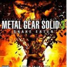 Metal Gear Solid 3 Snake Eater(no manual)-PS2