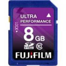 Fujifilm-8GB SDHC Class 10 Memory Card