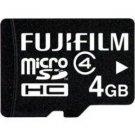 Fujifilm-4GB MicroSDHC Class 4 Memory Card