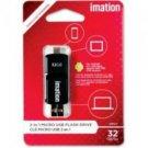 Imation-32GB 2in1 Micro USB Flash Drive
