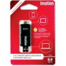 Imation-64GB 2in1 Micro USB Flash
