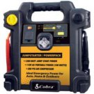Cobra Electronics- 300-Amp Portable Jump-Start/Air Compressor with AC & DC Power Outlets