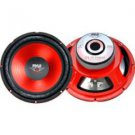 "Pyle-10"" Red Label Series High Performance Subwoofer - 600W Max"
