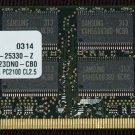 SAMSUNG 512MB DDR PC2100 CL2.5 SODIMM 200 PIN RAM