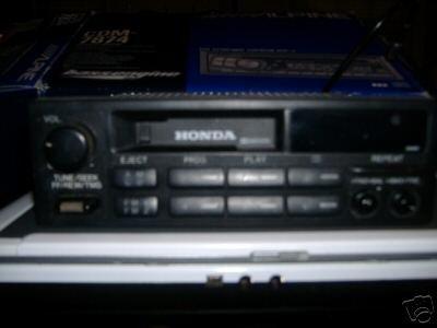Honda 91 CRX OEM Tape Radio 39100-SV4-A000