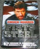 Chuck Norris Fists of Steel Tin can collection
