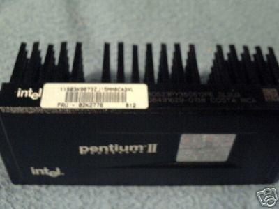 Intel Pentium II P2 80523PY350512PE SL2U3 W/Heatsink