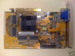 Asus V3800M nVidia TNT2 32MB M64 AGP 4X Video Card