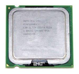 SL7Z9 Intel 3GHz Pentium 4 630 CPU, 3.00GHz/2ML2/800, 775-Pin, 630, HT EM64T
