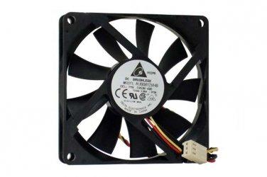 DELL P/N:C953N-A00 8Y35 cpu fAN,Delta 8025 AUB0812VH 12V 0.41A 3Wire Cooling Fan