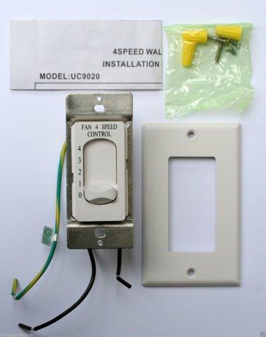 NEW Rhine Ceiling Fan 4-Speed Control Switch MODEL UC9020
