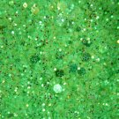 GLITZY GREEN GLITTER SAMPLE
