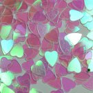 IRIDESCENT HEARTS 1/4""