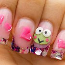 Keroppi nails GID kit