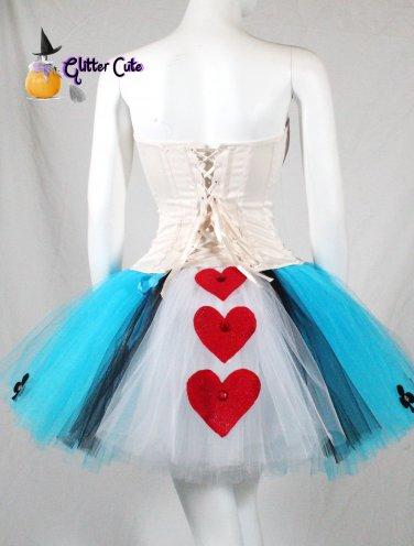 Charlotte Russe Corset and handmade tutu Alice in wonderland costume