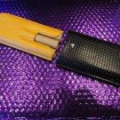 Cohiba Black & Gold Leather Cigar Case holds 3 Large