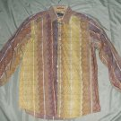 Bugatchi Uomo mens casual dress shirt medium