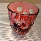 Faberge Na Zdorovya Vodka Crystal Ruby Red Edition Single Shot Glass