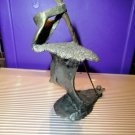 "mark hopkins bronze sculpture golf series  "" Bunker ""  in the original  box"