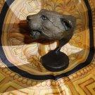 tim rush bronze cougar head sculpture