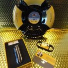 cohiba ashtray , lighter & cigar cutter combo