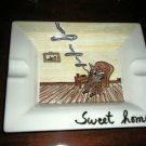 "Villeroy & Boch Cigar Ashtay "" Sweet Home """