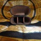 Andre Garcia Rugato Black  Lizard Skin  leather cigar case  in the original box