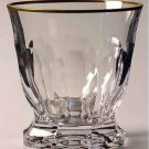 Faberge Aurora Double Old Fashion  Glass without box